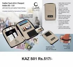 Feather Touch All in 1 Passport Holder (m)
