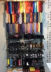 Rack for Mens accessories store