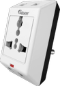 Multi - Connect 3 Pin Multi Plug With International Socket