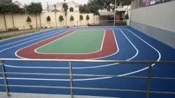 JD 5 Layers And 8 L Ayers Synthetic Sports Flooring, 4.5mm To 8.5mm, Indoor And Outddor
