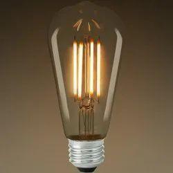 Glass 4 W LED Filament Bulb