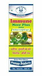Pioneer Giloy -tulsi- Papaya Leaf Immunee Neer Plus Juice, Packaging Size: 500 Ml, Packaging Type: Bottle