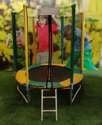Fitness Jumping Exercise Trampoline