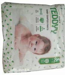 Nonwoven Teddyy Baby Diapers Pants, Size: XL