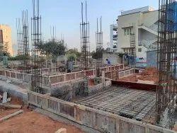 Panel Build Concrete Bank Building Construction Service, in Pan India