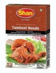 Shan Tandoori Masala, Packaging Size: 50 g, Packaging Type: Box