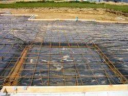 黑色公路建设LDPE板材,厚度:725微米