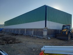 Prefab Mild Steel Cold Storage Shed, For Warehouse