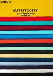 Cat Eye Dobby Yarn Dyed Dobby Shirting Fabric
