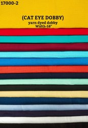 Cat Eye Dobby Yarn Dyed Dobby Shirting Fabric