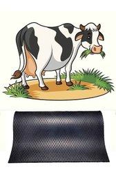 Cheapest Cow Stable Rubber Mats (4 Ft X 7 Ft) Folding Type