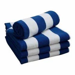 Cotton Plain Pool Towels, Size: 36 X 72 Inch