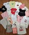 Cotton Shirts & Tops Girls Kidswear Export Surplus Stocklot Garments, Size: 2 To 10 Years
