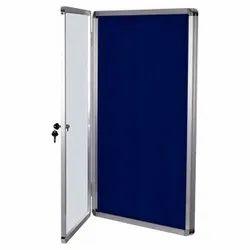 Notice Board With Acrylic Door