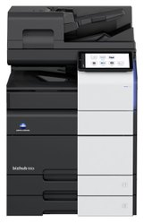 Konica Minolta 55 Copy Per Minute Speed Bizhub 550i Black And White Xerox Machine