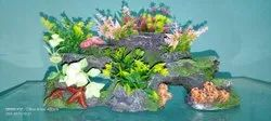 Aquarium Decorative Items, Packaging Type: Packet, Size: 10 Inch
