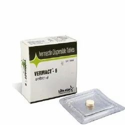 Vermact-6 Ivermectin 6 Mg Tablets