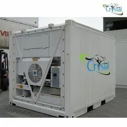 Crystal Used Reefer Container