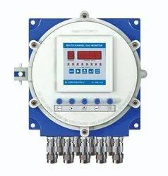8 Channel Combustible Gas Monitor