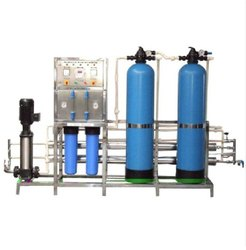 FRP Reverse Osmosis Plant, For Industrial, Water Storage Capacity: 500 LPH