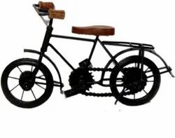 Scraping Brown, Black Handicrafts Antique Cycle, For Decoration