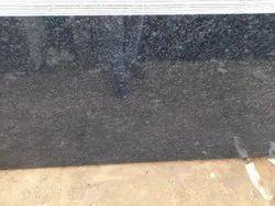 Polished R Black Granite Slab, Thickness: 15 mm