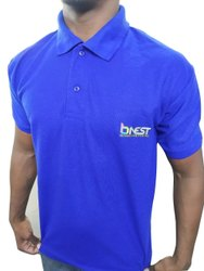 Collar Half Sleeve Mens PP T Shirt