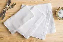 Cotton Plain Table Napkins, Size: 18x 12 Inch