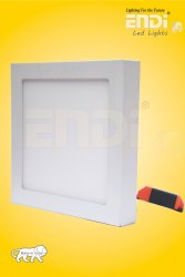 ENDI Ceramic LED Square Ceiling Light, 15 W, Voltage: 230 V
