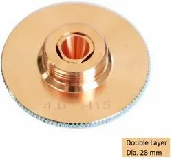 4.0 Mm Double Layer Laser Nozzle