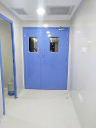 Swing or slide Modular Clean Room Doors, For Hospital
