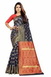 6.3 m (with blouse piece) Festive Wear Woven Banarasi Silk Saree