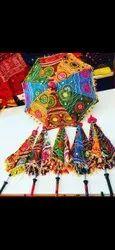 Cloth umbrella for decoration @110/- each