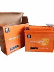 Capacity: 150Ah Powerzone Two Wheeler Battery, 48PZTX7R