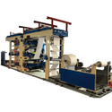 6 Color Auto Roll Changing- Flexographic Printing Machine