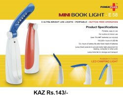 Mini Book Light