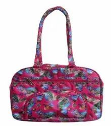 Vrinda Ladies Printed Coated Fabric Hand Bag, For Office, Size: 15 X 4 X 11 Inch