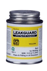 100 ml LeakGuard CPVC Pipe Solvent Welding Compound