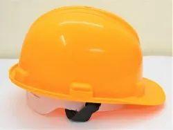 Polypropylene Plastic Medium Yellow Safety Hard Hats