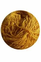 3 ply Dyed Yellow Woolen Yarn, For Knitting
