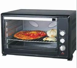 Domestic Black Electric Oven, Capacity: 21 L
