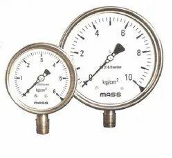SS Weather Proof Pressure Gauges