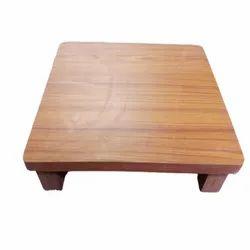 Wooden Pooja Chowki