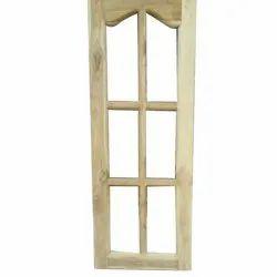 India Rectangular Teak Wood Window Frame, Dimension/Size: 3 X 1.5 Feet