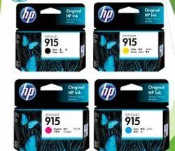 Hp 915 Ink Cartridge SET