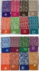 Colors Collection Cotton Ladies Wax Batik Suit Material, Handwash