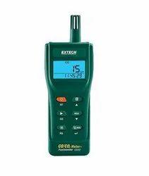 Indoor Carbon Monoxide  and Carbon Dioxide Datalogging Meter