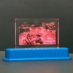 Wood Glass Light Memento