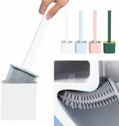 Silicone Toilet Brush with Holder
