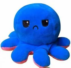 Reversible Octopus Soft Toy